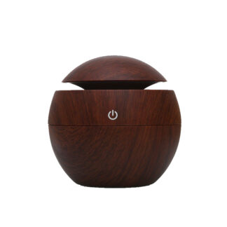Diffuser Sphere dark wood
