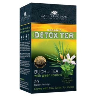 Cape Kingdom Detox Tea Buchu Green Rooibos