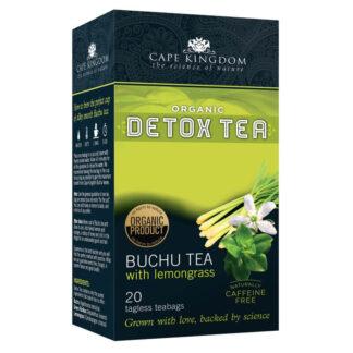 Cape Kingdom Detox Tea Buchu Citroengras